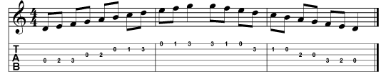 all 11 notes in a scale