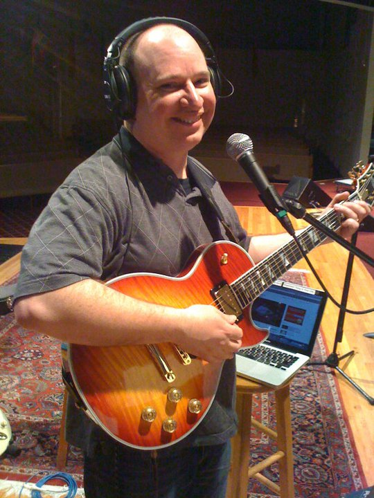 Steve Krenz with a Les Paul