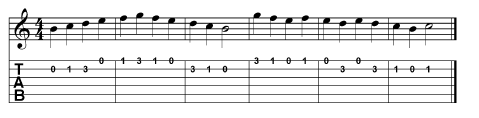 tab and string exercises