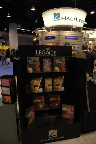 Learn and Master at the Hal Leonard display