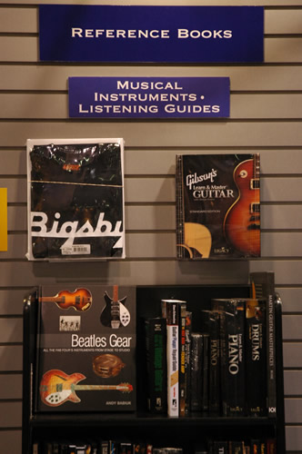 Hal Leonard display wall