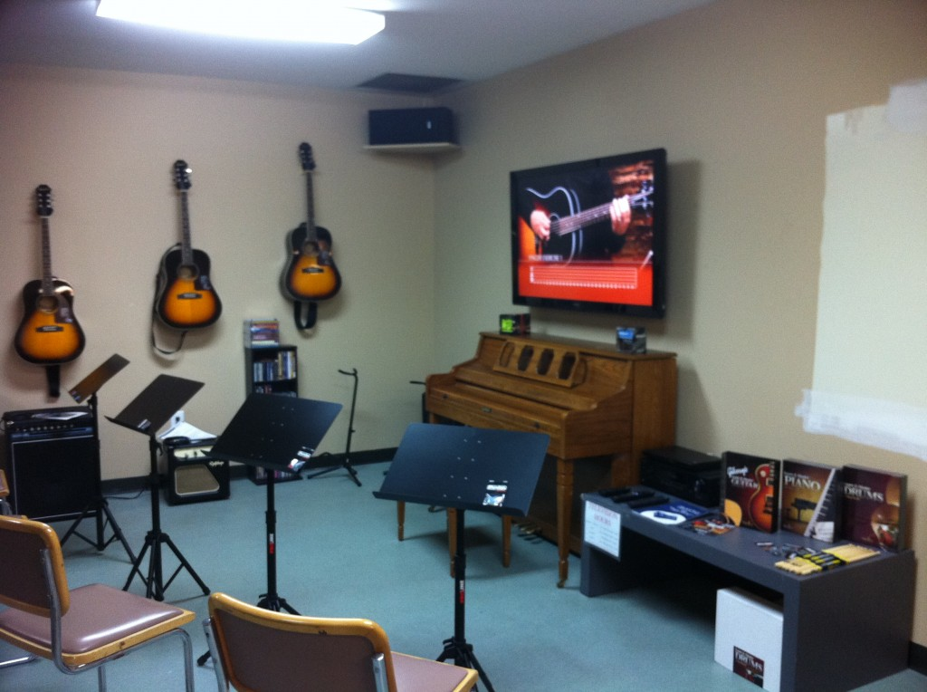 Nashville Rescue Mission Music Room