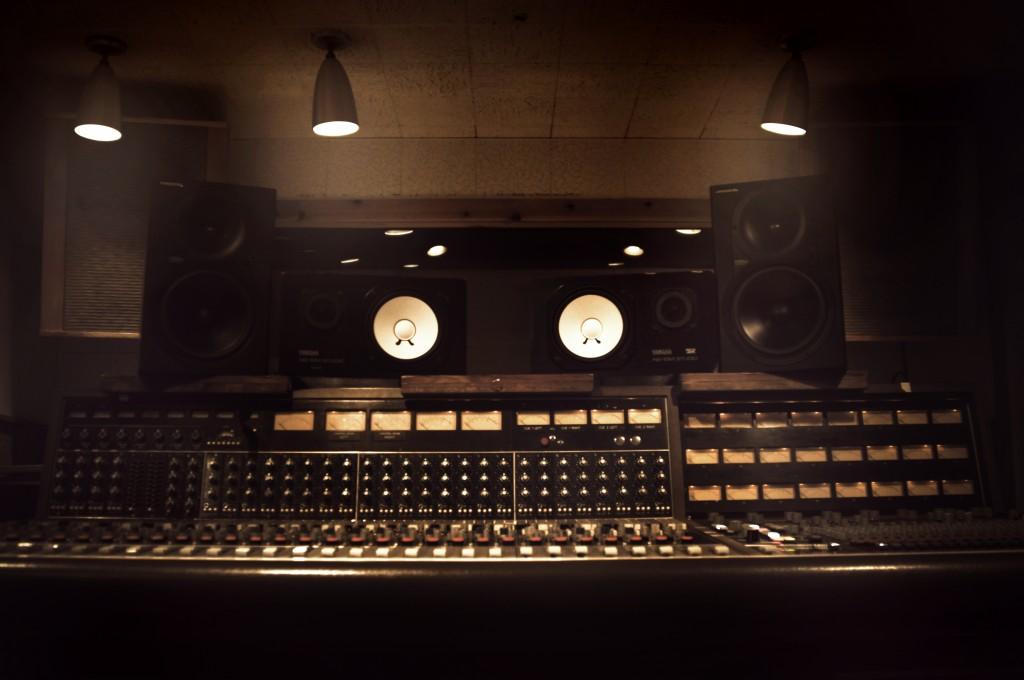 RCA Studio B control room