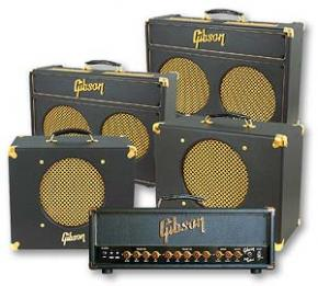 old Gibson tube amps