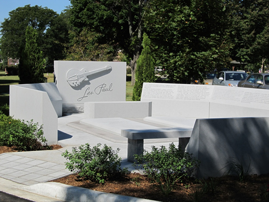 New memorial to Les Paul