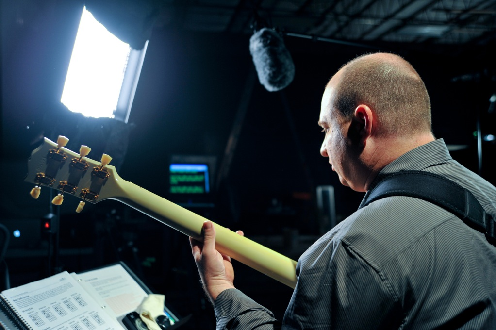 steve krenz recording guitar