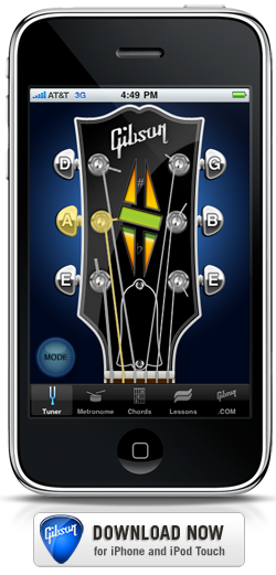 The gibson learn & master guitar app - download it free in the itunes store