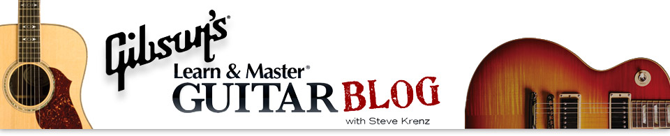 Gibson's Learn and Master Guitar Blog