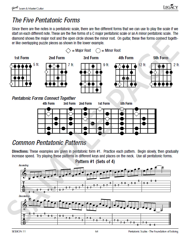 Guitar Lesson Book In Gibsons Learn Master Guitar Course