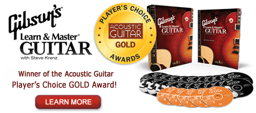Gibson Learn & Master Guitar with Steve Krenz