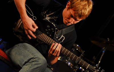Gibson's Learn and Master Guitar Student Playing