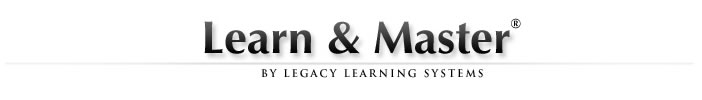 Learn and Master courses logo