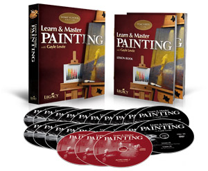 Learn & Master Painting  - Home School Edition
