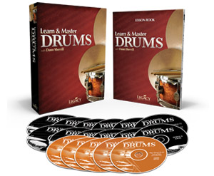Learn & Master Drums Product Spread