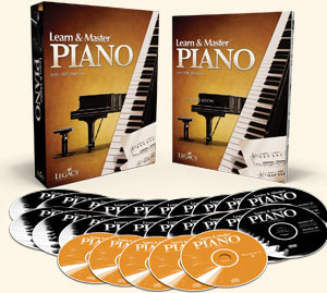 Learn and Master Piano DVD