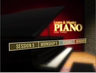 This picture shows a clip from learn and master piano DVD 3
